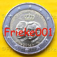 Luxemburg - Luxembourg - 2 Euro 2014 Comm.(50 Jaar Troonsbestijging) - Luxemburg