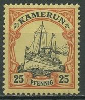 Kamerun 1900 Kaiseryacht Hohenzollern 11 Postfrisch - Kolonie: Kamerun