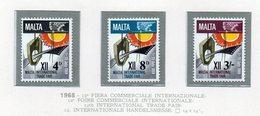 Malta - 1968 - 12^ Fiera Commerciale Internazionale - 3 Valori - Nuovi - Vedi Foto - (FDC14016) - Malta