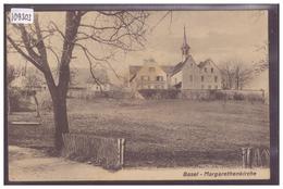 BASEL - MARGARETHENKIRCHE - TB - BS Bâle-Ville