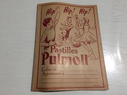PROTÈGE CAHIER Ancien PASTILLES PULMOLL - Protège-cahiers