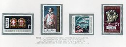 Malta - 1968 - 4° Centenario Della Morte Di La Valette - 4 Valori - Nuovi - Vedi Foto - (FDC14017) - Malta