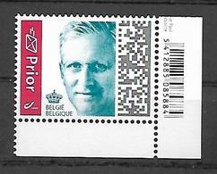 Belg. 2019 - COB N° 4829a ** - Effigie Royale Roi Philippe PRIOR (GOMME) - Belgium