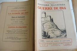 Militaria-Histoire Illustrée Guerre1914-F118-St-Gond Mailly Sézanne Reuves Coizard Fère-Champenoise Courtacon Somme-Soud - Revues & Journaux