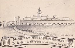 LE BREUIL SUR COUZE - Souvenir Des Fêtes De Jeanne D'Arc - France