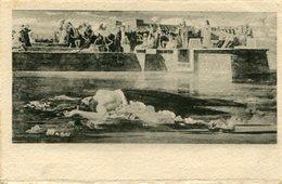 """F. FARUFFINI """"LA VERGINE AL NILO"""" - ARTE TARJETA POSTAL CARD - LILHU - Malerei & Gemälde"""