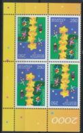 Weißrussland 4x369 Kehrdruckpaare ** Postfrisch - Belarus