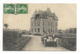 St GAULTIER - Castel Jaloux Avec Superbe Auto RENAULT Type BH De 1909   - L79 - France