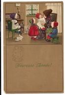 Illustrator PAULI EBNER - Weihnachten - Christmas - Père Noël - Santa Claus - New Year - Nouvel An - 1922 - Ebner, Pauli