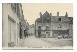 St GAULTIER - Rue Grande ( Auto )    - L79 - France