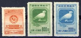 China PRC - Lot Of 3 Stamps New MLH - Political Conference - World Peace   (see Description) - 1949 - ... Repubblica Popolare