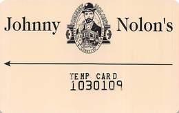 Johnny Nolon's Casino Cripple Creek CO - Temp Slot Card - Casino Cards