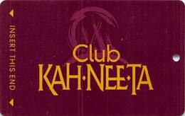 Kah-Nee-Ta Casino - Portland OR - BLANK Slot Card - Casino Cards