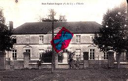 SUS-SAINT-LEGER (P-de-C) - L'Ecole - Carte Animée - Frankrijk