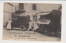 SAINT-NAZAIRE  Fromagerie Moderne  H.SAUDRAIS  12,rue Du Prieuré - Saint Nazaire