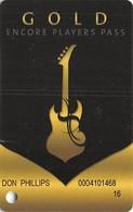 Hard Rock Casino - BIloxi, MS - Slot Card With C-71670B Over Mag Stripe - Casino Cards