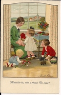 Illustrator PAULI EBNER - Children And Toys - Enfants Et Jouets - KInder Und Spielzeug - Ebner, Pauli