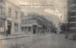 Henegouwen   Haine Saint-Pierre  Rue De La Gare  Hotel De La Gare   La Louvière       I 5300 - La Louvière