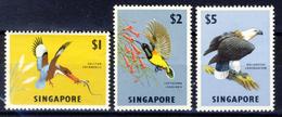 1962 Flora And Fauna - The Three High Values - Catalog € 70 - Singapore (1959-...)