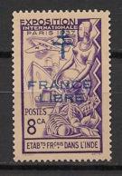 Inde - 1941-43 - N°Yv. 183 - France Libre - Neuf Luxe ** / MNH / Postfrisch - Inde (1892-1954)
