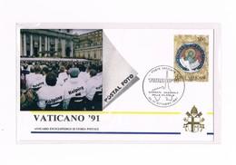Vaticano - Poste Vaticane -  Annullo Speciale Giornata Nazionale Della Filatelia - Torino'91 - 1991 - Errors & Oddities
