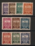 Inde - 1948 - Taxe TT N°Yv. 19 à 28 - Série Complète - Neuf Luxe ** / MNH / Postfrisch - Inde (1892-1954)