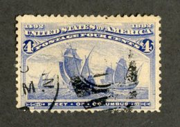 W-12097 USA 1893 Scott#233 (o) Offers Welcome! - Used Stamps