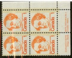 W-12123 Canada 1977 Scott#586**pl.block Offers Welcome! - 1952-.... Règne D'Elizabeth II
