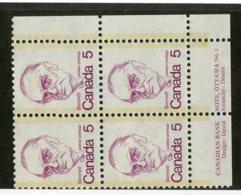 W-12127 Canada 1977 Scott#590**pl.block Offers Welcome! - 1952-.... Règne D'Elizabeth II