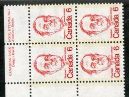 W-12128 Canada 1977 Scott#591**pl.block Offers Welcome! - 1952-.... Règne D'Elizabeth II