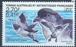 TAAF 2001 N° 288 Neuf Oiseaux Pétrels - Terres Australes Et Antarctiques Françaises (TAAF)