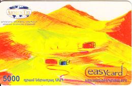 ARMENIA - Children Painting, ArmenTel Prepaid Card 5000 AMD, Exp.date 31/12/08, Used - Arménie