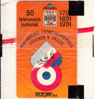 CZECHOSLOVAKIA - TELECART SA Second Issue 50 Units, Chip SC5, CN : 33116, Tirage %20000, 11/91, Mint - Czechoslovakia
