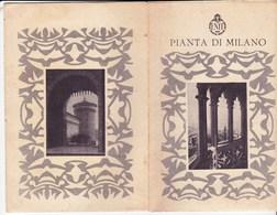 Pianta Di Milan (Italie)   De ENIT Circa 1935 Au 1/20.000      En 8 Planches - Europe