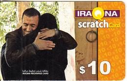 IRAQ - Couple, Iraqna Recharge Card $10, Exp.date 31/12/06, Used - Irak