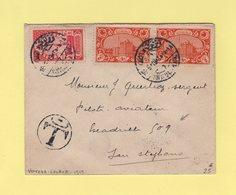 Turquie - Voivoda Galata - 18-5-1919 - Destination Pilote Aviateur Escadrille 509 à San Stephano - Armee D Orient - 1858-1921 Empire Ottoman