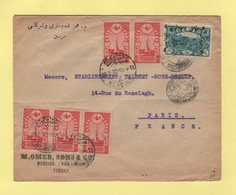 Turquie - Mersine - 1922 - Destination Paris - 1858-1921 Ottoman Empire