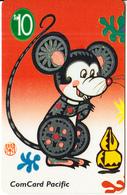 NAURU - Chinese Horoscope/Year Of The Rat(puzzle 1/2), Used - Nauru