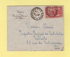 Alger Palais D'ete - 15-1-1938 - Cabinet Du Gouverneur General D Algerie - Covers & Documents