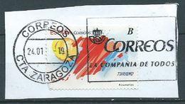 ESPAGNE SPANIEN SPAIN ESPAÑA 2012 TURISME B USED ED 4689 YV 4367 MI 4662 SG 4680 SC 3820 - 2011-... Usati