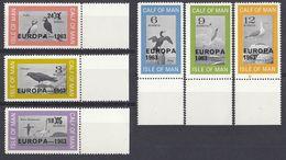 ISLE Of Man  - Europa - Serie Completa Di 6 Valori MNH Con Sovrastampa 1963, Come Da Immagine. - Local Issues