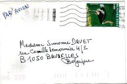 BURKINA  FASO,   Letter,  Bird   /    Lettre,  Oiseau - Struisvogels
