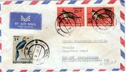 BURMA,  Letter,  Birds   /    BIRMANIE,   Lettre ,  Oiseaux - Oiseaux
