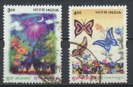 °°° INDIA - Y&T N°1646/47 - 2001 °°° - India