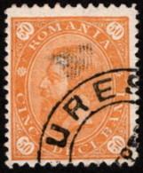 ROM SC #116 U 1894 King Carol I WMK 164 CV $12.50 - 1881-1918: Charles Ier