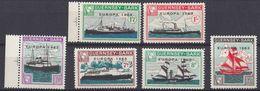 GUERNSEY Local Mail To SARK - 1963 - Europa - Serie Completa Di 6 Valori MNH Con Margini Di Foglio, Come Da Immagine. - Guernesey