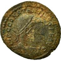 Monnaie, Constantin I, Follis, 312-313, Ostia, TB+, Bronze, RIC:89 - 7. L'Empire Chrétien (307 à 363)