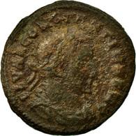 Monnaie, Constantin I, Follis, AD 307, Lyon - Lugdunum, TB, Bronze, RIC:212b - 7. L'Empire Chrétien (307 à 363)