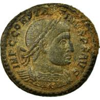 Monnaie, Constantin I, Follis, 312-313, Ostia, TTB, Bronze, RIC:89 - 7. L'Empire Chrétien (307 à 363)