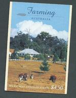 Australia 1998 Farming $4.50 Booklet Fine Complete - Booklets